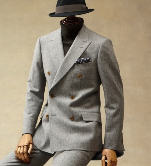menofhabit:  Paul Stuart F/W '11.  Model outfit.