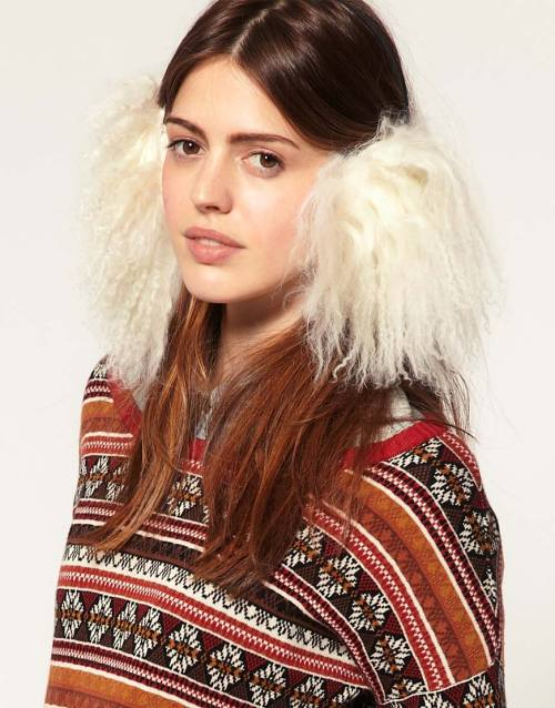 Ana Konder Exclusive For Asos Mongolian earmuffsMore photos & another fashion brands: bit.ly/JgQvah