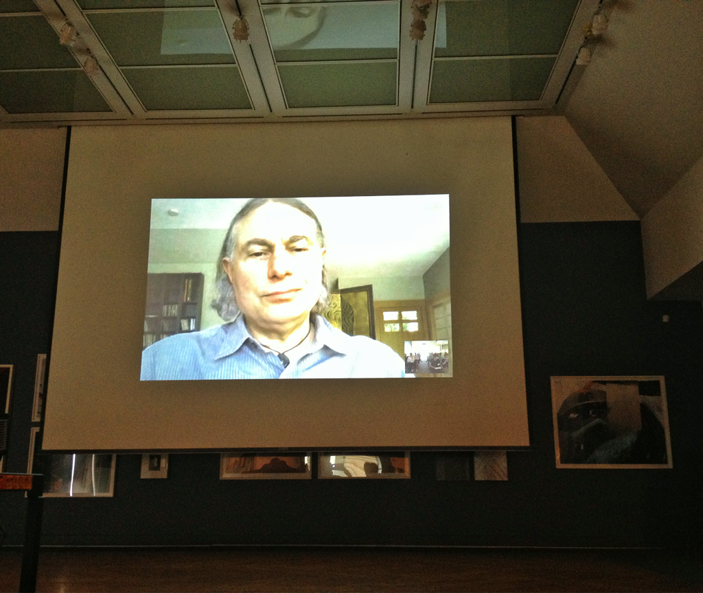 Oh Falk! Last night's NEMA YEPs Skype session with none other than John Falk - 2 hours talking with him about visitor identities and their application to museums