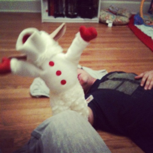 Lambchop dancin' (Taken with Instagram)