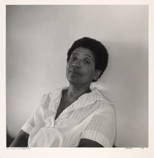 autostraddle:  Audre Lorde via Portraits of Lesbian Writers, 1987-1989