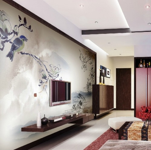 homedesigning:  (via Exquisite Wall Coverings from China)