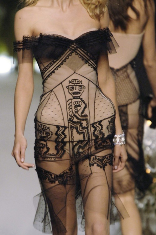 beboldwearblack:  Christian Dior Couture Fall 2005