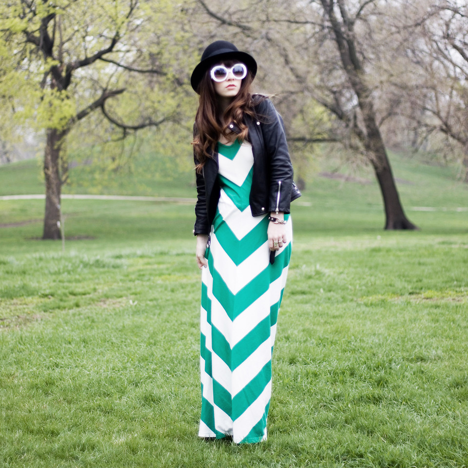 lookbookdotnu:  VERTICAL GREEN. (by Rachel-Marie Jones)