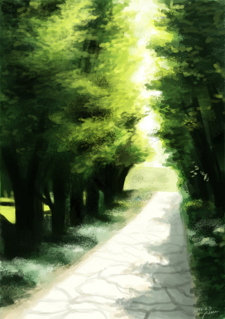oh my gosh sdlfjsdf how do you draw landscape/background;; I give up orz