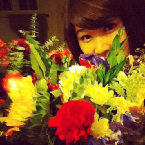 Happy day <3 thank u all for the gifts and support! <3 (Taken with Instagram)