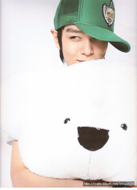 Is this what heaven looks like? TOP + Polar bear = ulzzang