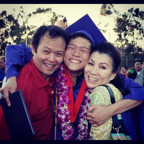 Me and my parents… GRADUATION!
