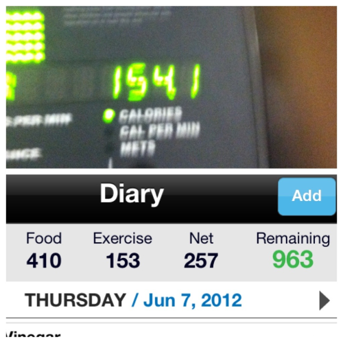 Day 29: good news is I was way under on my calories. Bad news is that I was wayyyy too low on calories and didn't have enough energy for 500 calories burned but I did burn 150.  Gonna step it up for final day 30… Almost end of cycle 1!