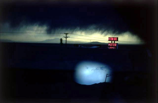 Western Skies Motel, Colorado, 1978.  Photo by Ernsy Haas