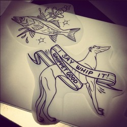aplaceformythings:  Another one for the walk in folder! Come get tattooed! (Taken with Instagram at Devils Ink Tattooing)