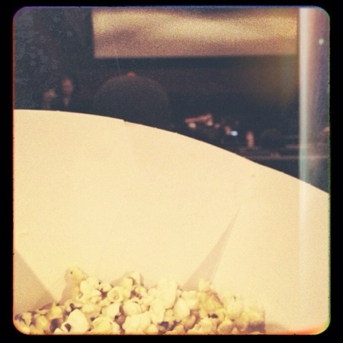 Late night movie adventure! #prometheus (Taken with Instagram)