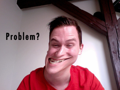 Picture of my troll face - before i got all white and hairless  Submitted by Rasmus Jennings