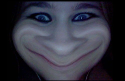 bloodblonde94:  This is my troll face. U MAD??   not mad…more like scared…