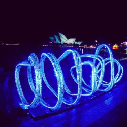 4 nights of #vividsydney 2012 to go & it doesn't get much better than this. By: e0nn  (Taken with Instagram)