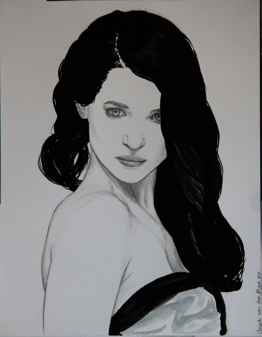 Katie McGrath by =AnoukvanderMeer I took a better photo.. But was too lazy to crop the edges..