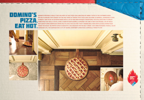 Domino's Pizza. Eat Hot