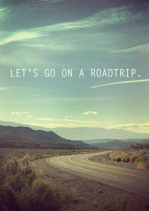 Let's go on a roadtrip. #LongWeekend