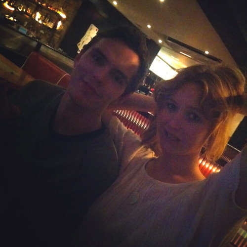 cooldonna:  Jennifer Lawrence and Nicholas Hoult in London,so cute! ;)
