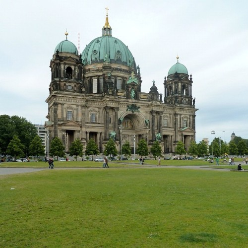 Berliner Dom, Museum Island, Berlin (Taken with Instagram)