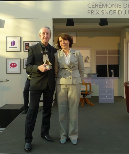 "Last week Bryan Talbot scooped prestigious SNCF award for the French edition ofGrandville Mon Amour.  Bryan won the Prix SNCF for best graphic novel at a ceremony at the Gare de Lyon, Paris on Tuesday 29th May. Voted for by the general public, this is a national award given by the French railway company for the best in crime fiction.""They give an award for best novel and best short film,"" Bryan told us. ""This is the first year they've introduced the bande dessinée category and it was won by Grandville Mon Amour out of a long list of 50 and a shortlist of five.""  [Photo courtesy of the Milady blog.]"