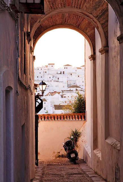 | ♕ |  Window to Vejer - Andalucia, Spain  | by ©  John & Tina Reid