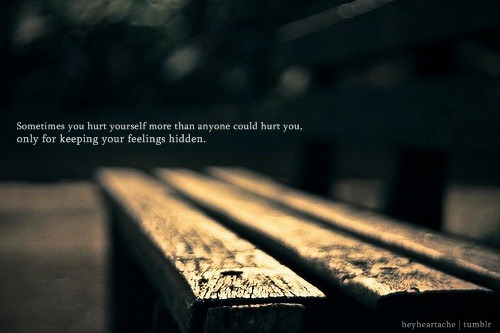 Sometimes you hurt yourself more than anyone could hurt you | FOLLOW BEST LOVE QUOTES ON TUMBLR  FOR MORE LOVE QUOTES