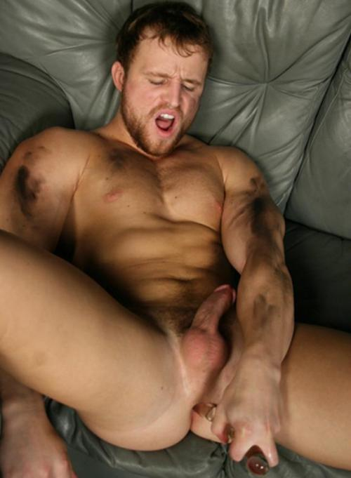 Nash Lawler indulging in some ass play with sexy glass dildo!  Looks like another one of our favourite Tops might be looking to switch sides!  Those dirty grease marks all over his skin definitely turns up the heat……#garagemechanicfuck - Yum Check out the decadent range of glass toys @ 2ErShen www.2ErShen.com