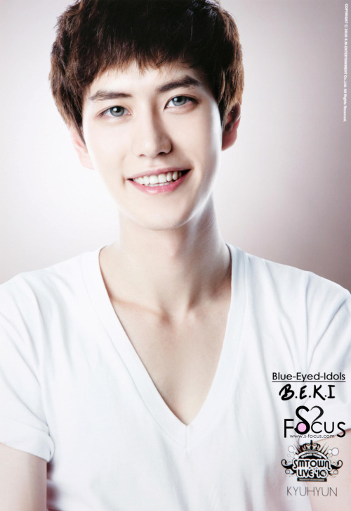 blue-eyed-idols:  BLUE EYED K-POP IDOLS: #54 Cho Kyuhyun - Super Junior