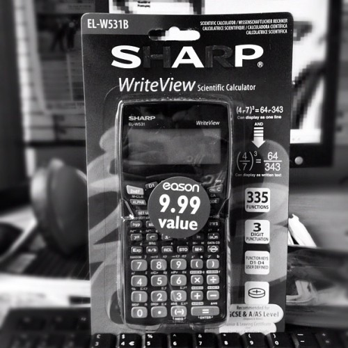 Got me new SAP calculator.Lets do this #maths #calculator #leavingcert #saps (Taken with Instagram)