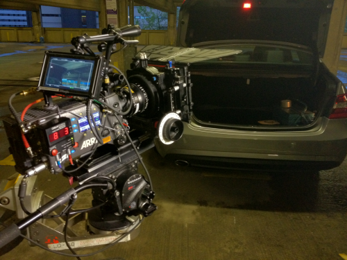 Quick snapshot of my Arri Alexa setup on 11 week drama prior to shooting a pretty intense scene last night up in Liverpool.