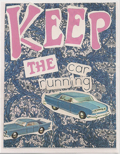 poster for Keep The Car Running by Arcade Fire