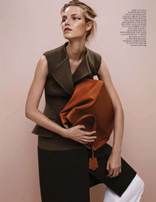 isawtoday:  Suvi Koponen by Josh Olins for Vogue UK July 2012Styling by Lucinda Chambers