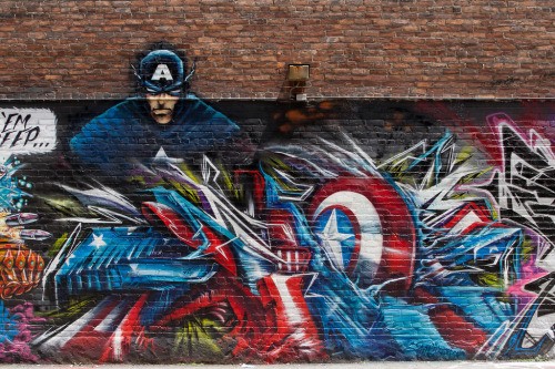 captain america by fel3000ft (by ExcuseMySarcasm)