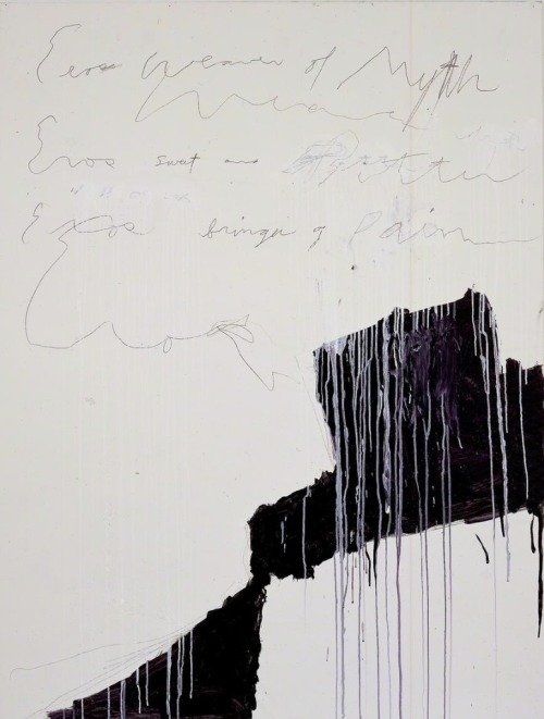 Coronation of Sesostris (2000) by Cy Twombly