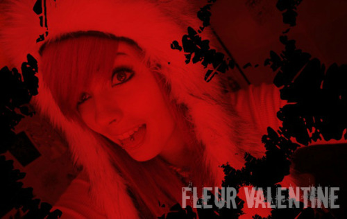 Name → Fleur ValentineAge →  19 Disorder/Staff Member →  Alice in Wonderland Syndrome, Narcissistic Personality Disorder & Psychopathic TendenciesStatus → TakenShips →  Fleur/ChemistryBio → Fleur first arrived at Gravespoint Asylum when she was seventeen years old. All her life, Fleur liked to live in her own fantasy world. She saw things from a different perspective. It was most often noticeable at night, though it was always there. Sometimes parts of her body don't feel as though they're quite the right size or shape. Sometimes her feet are unusually small. Sometimes her hands grow to be much larger than she had ever seen them before. This happens with objects around her as well. A vase may twist and distort out of shape in her mind. She may see a car, or a building much smaller or larger than it actually is. Even more than this, time seems to go much slower in Fleur's world. It gives her a sense of invincibility. She feels as though she's lived so much longer than she actually has, and she sometimes believes that she may live forever. When Fleur arrived, she found out that one of the two issues she had was called Alice in Wonderland Syndrome. She thought it was funny, and went on to take on the persona of the Queen of Hearts. She had always liked the Queen. The Queen knew she was best, far greater than those around her, and as far as Fleur was concerned, so was she. Sometimes she finds herself relating things to Alice in Wonderland, purely for the novelty of it. Fleur is a people watcher. She likes to sit back, and watch the people around her. She likes to watch, and take in everyone. She likes to know their business, to hear the gossip. Fleur likes to be a part of the lives of everyone around her even if they don't know who she is. Nothing is more fun than knowing all the secrets about the people she's surrounded by, and watching as the drama unfolds like a TV show brought to life before her eyes.