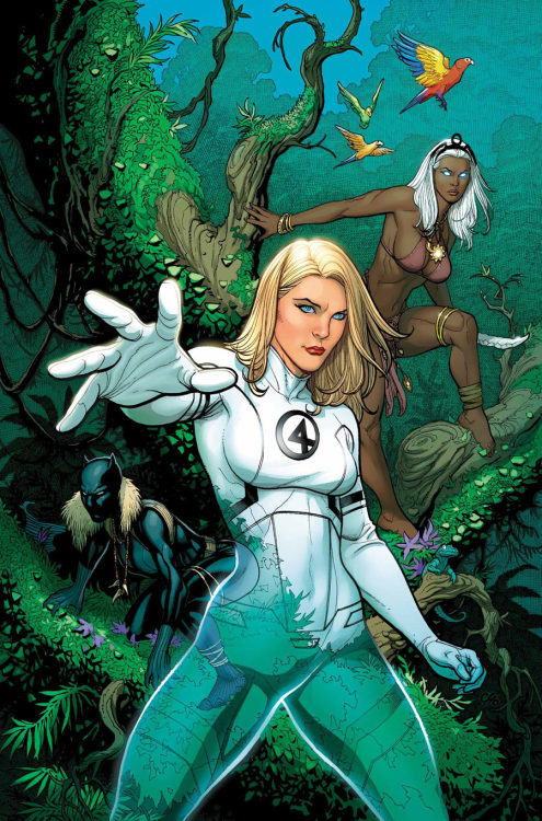 justgeeking:  Fantastic Four #608 by Mike Choi