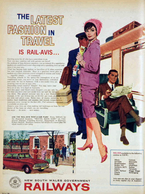 vivatvintage:  Fashions on the railways, 1961