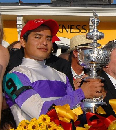 "Mario Gutierrez has a chance to win the ""Triple Crown"" with ""I'll Have Another"" Saturday, June 9 at the Belmont Stakes"
