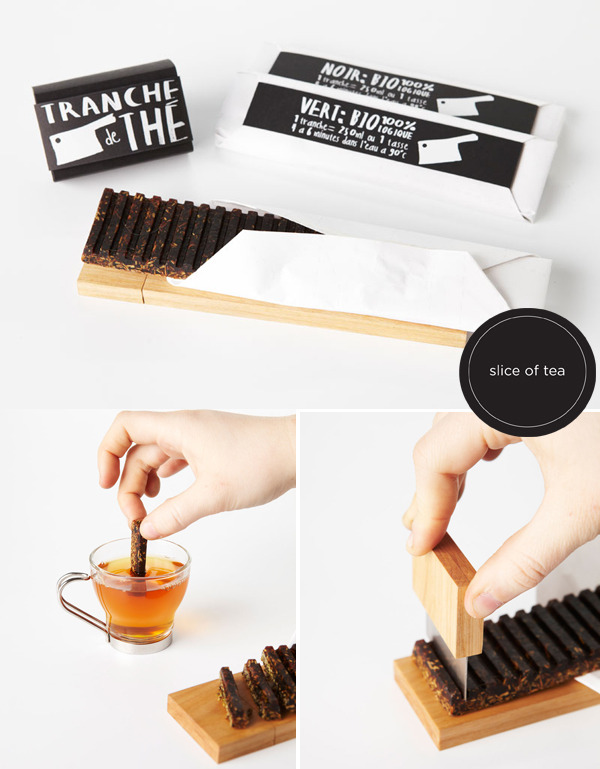 (via Black*Eiffel: Smart Design : Slice of Tea)