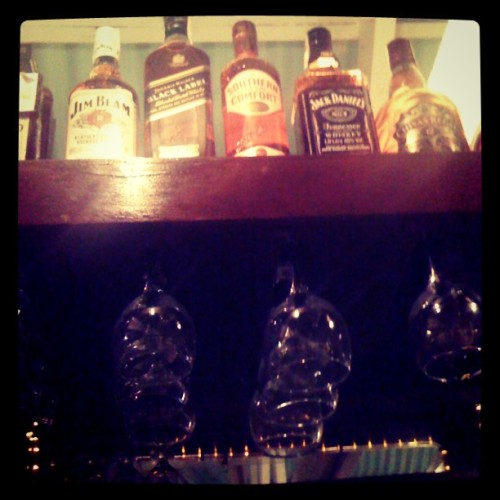 What a night shot! #bottles  (Taken with Instagram)