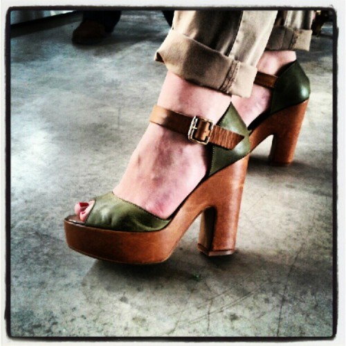 #colpodifulmine al #fashiocamp2012 #scarpe (Taken with Instagram)
