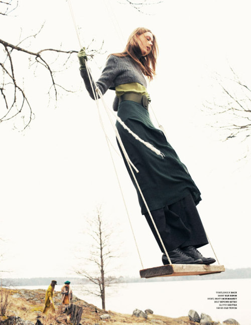 fridalove:  Stockholm A/W 12Photographer: Andreas Öhlund