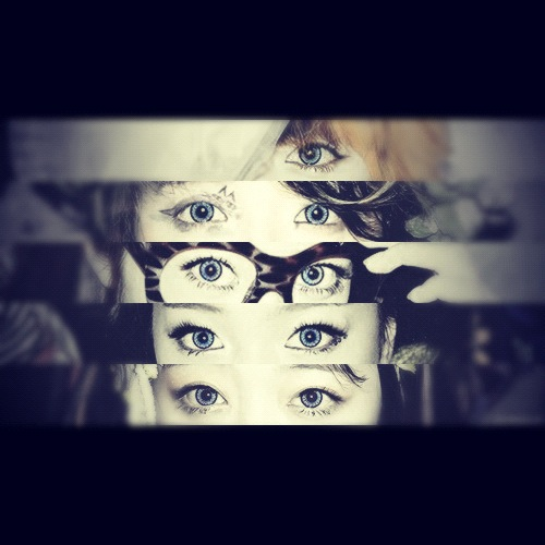 cloudsofsnow:  F(x)'s blue eyes~ (cr: affxtion_id @twitter)