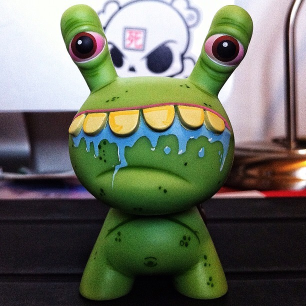 #Dunny of the day (day 111) - Dunny Series 8 (2011) by Betso (Taken with Instagram)