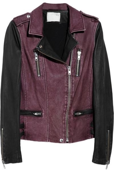 evachen212 philip lim knows how to do biker jackets.