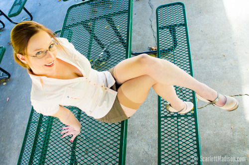 "scarlettmadison:  By request, something from a set on our site called ""Another Rendezvous""."
