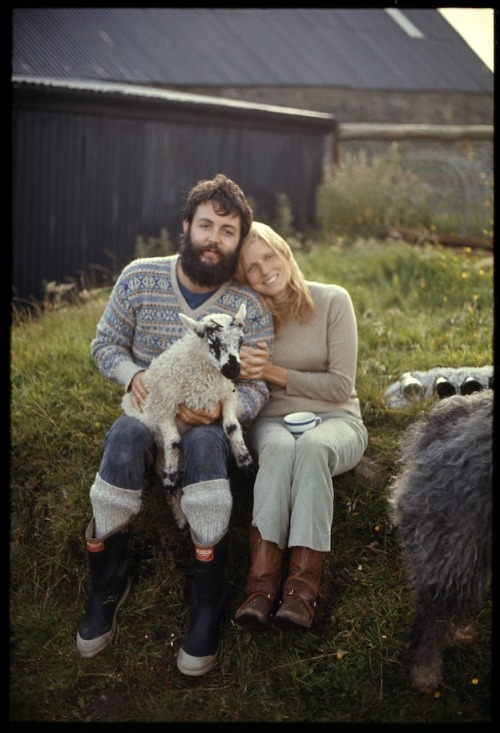 Hipsters: if you dress like Paul McCartney during his farmer phase, it's probably time to buy some new clothes.
