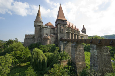 El castell de Hunedoara / The castle of Hunedoara by SBA73 on Flickr.Romania