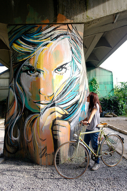 Alice Pasquini - Rome (IT) by AliCè on Flickr.